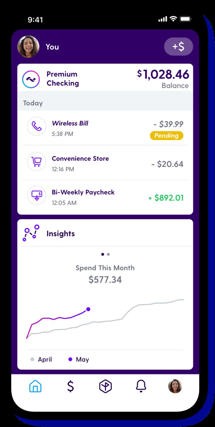 Current app bills screenshot