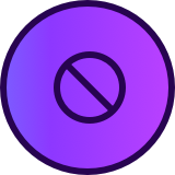 No Fees Icon
